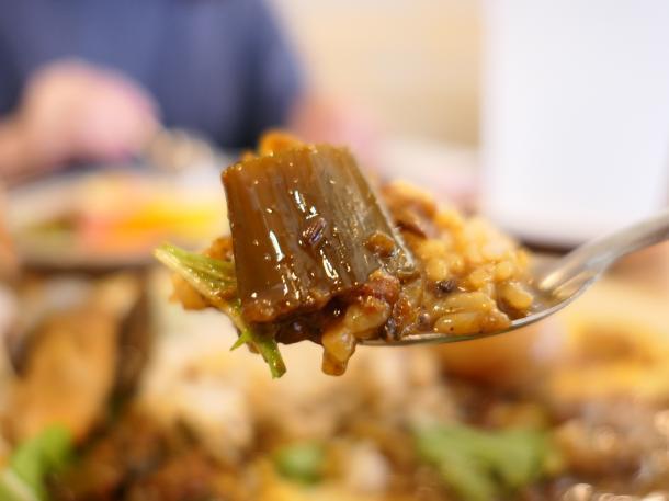 あさりネギ豆腐カレー