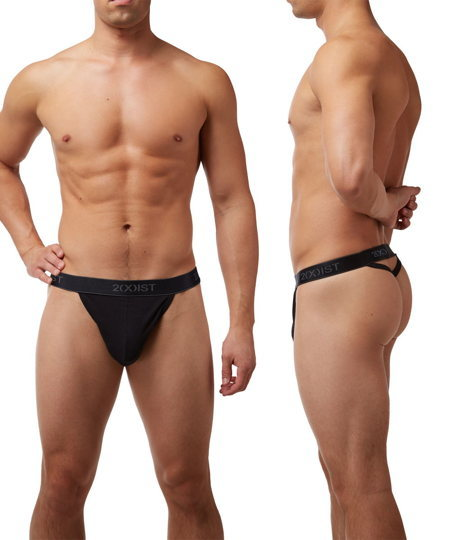 2(X)IST Cotton Y-Back Thong Tバック