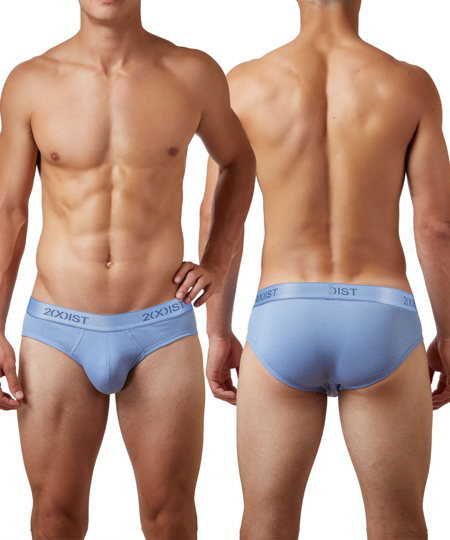 2(X)IST Cotton No-Show Brief ブリーフ