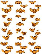 b-hw_カボチャコウモリ(群れ)