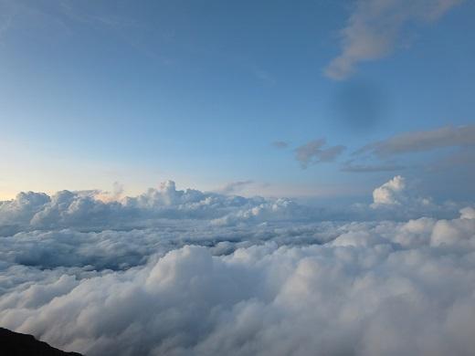 雲海ビュー