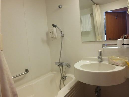 船室のバストイレ