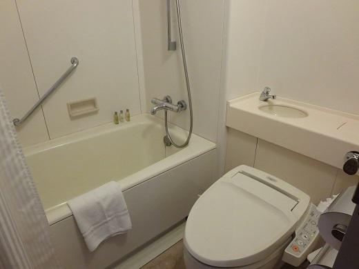 ニセコヒルトンのバストイレ