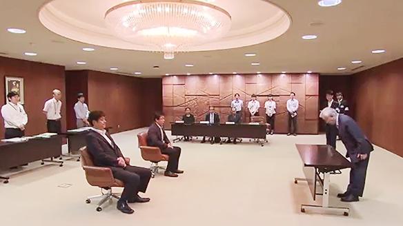 参院選広島 当選証書付与式