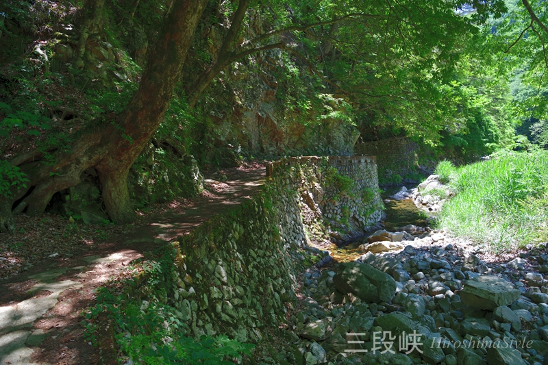 三段峡 遊歩道01