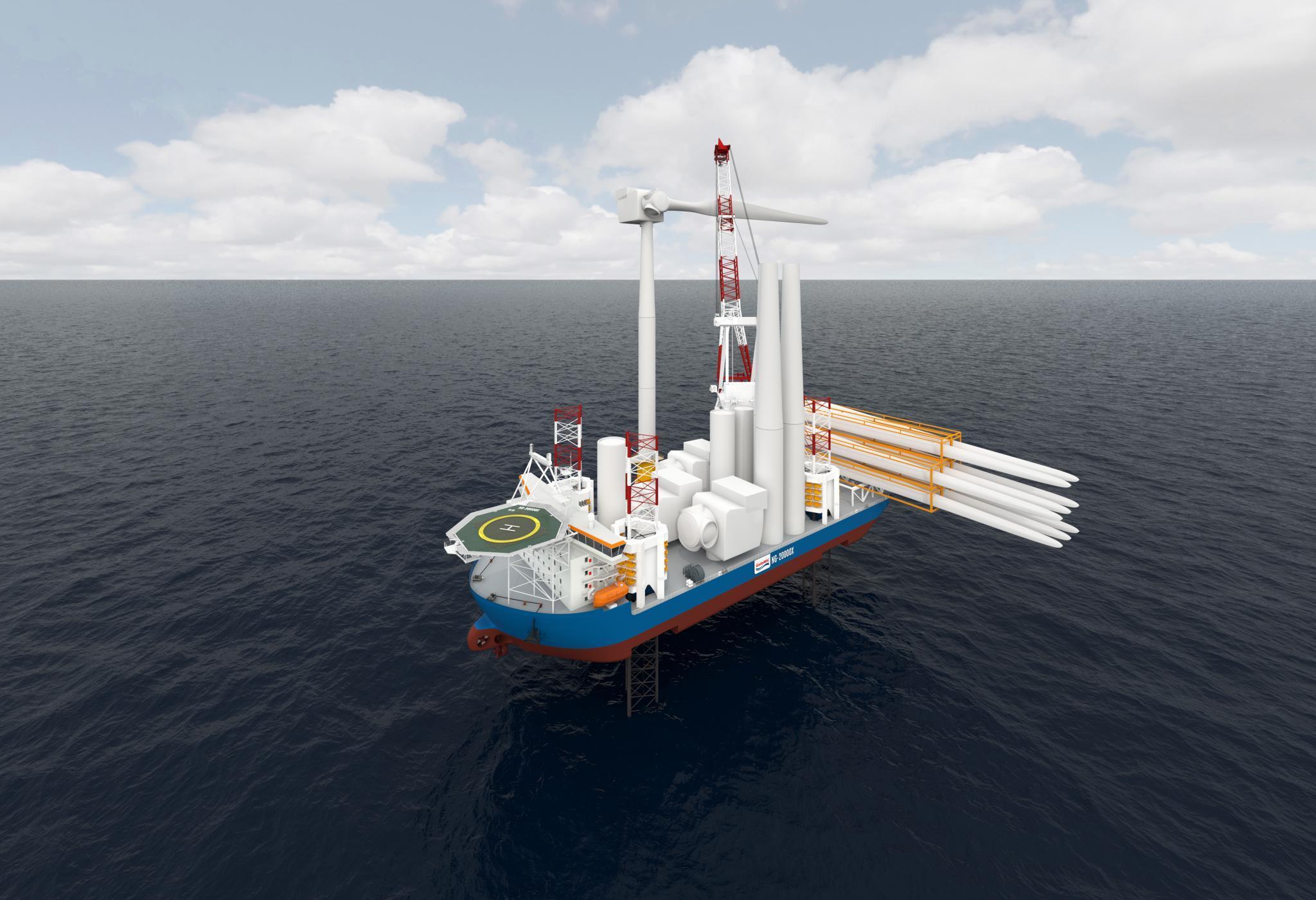 日本で世界最大級のSEP船建造-4