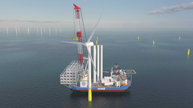 日本で世界最大級のSEP船建造-1