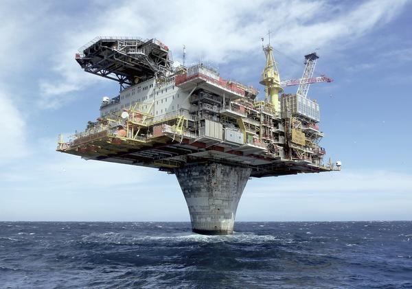 石油プラットフォーム-1