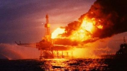 石油プラットフォーム-3