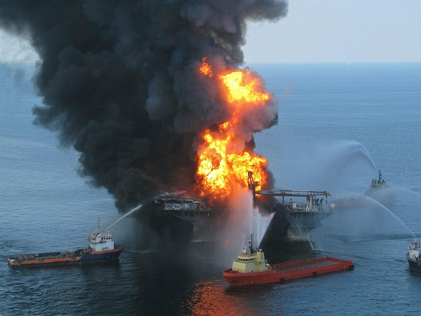 石油プラットフォーム-4