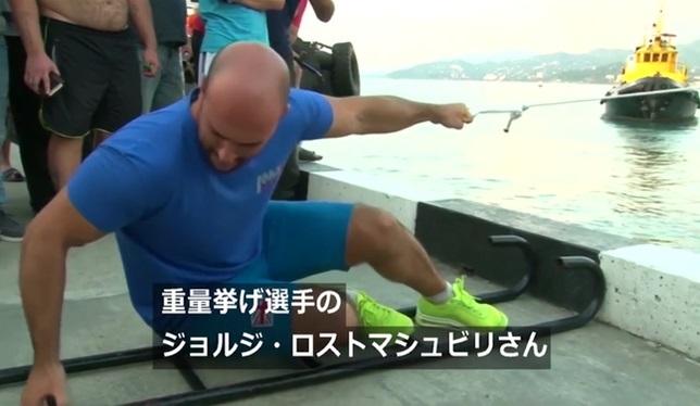 船を引く人-5