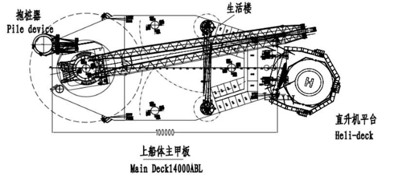 着座式SEP起重機船-9