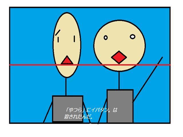 画面と位置関係の例
