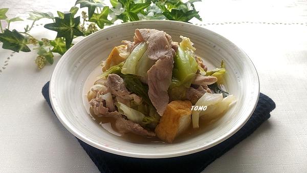 キャベツと豚肉のくたくた煮