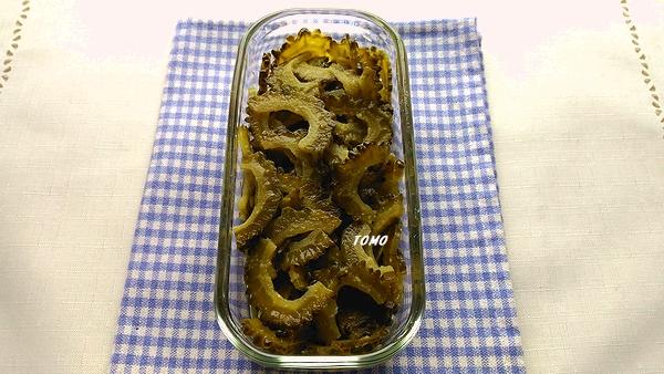 ゴーヤの麺つゆ佃煮