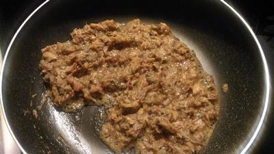 サバ味噌煮缶の佃煮1