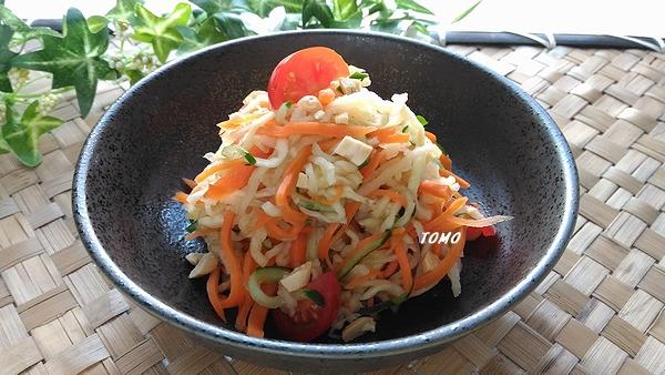 切り干し大根のタイ風サラダ