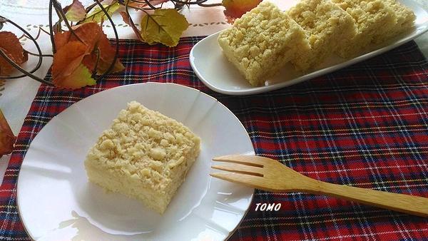 米油のリンゴのクランブルケーキ1
