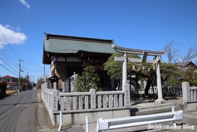長沼白山神社(三郷市鷹野)1