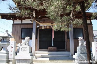 長沼白山神社(三郷市鷹野)11