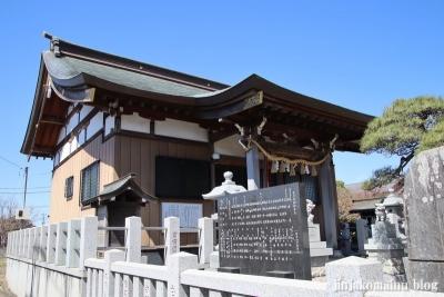 長沼白山神社(三郷市鷹野)12