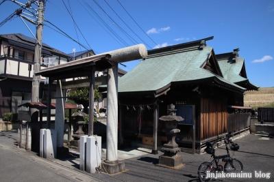 横堀御嶽神社(三郷市新和)1