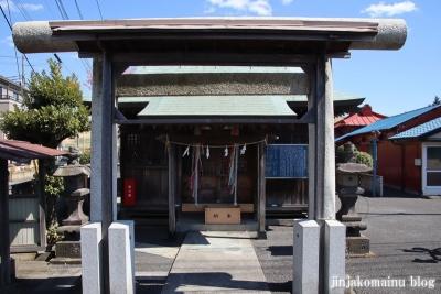横堀御嶽神社(三郷市新和)2