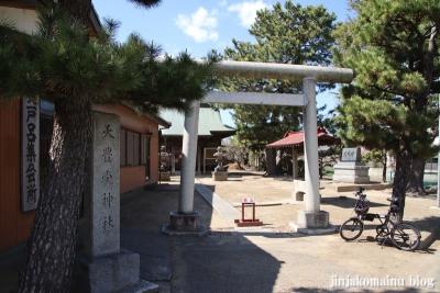 天豊受神社(三郷市鷹野)1
