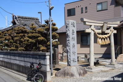 徳島稲荷神社(三郷市鷹野)1