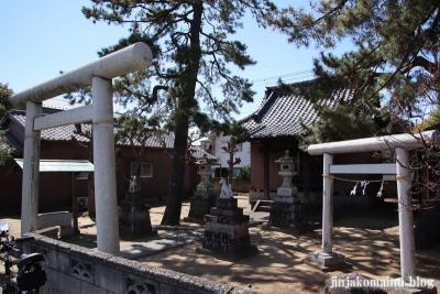 樋野口稲荷神社(三郷市東町)1