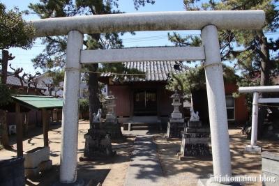 樋野口稲荷神社(三郷市東町)2