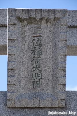 下新田稲荷神社(三郷市高州)3