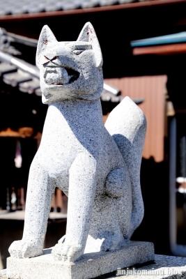 下新田稲荷神社(三郷市高州)6