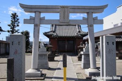 下新田稲荷神社(三郷市高州)2
