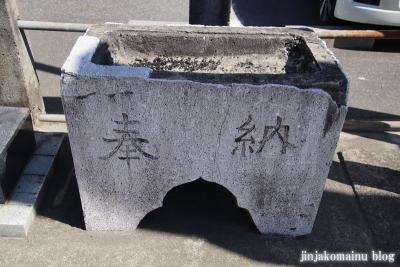 下新田稲荷神社(三郷市高州)4