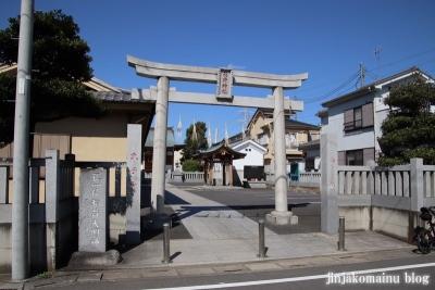 久兵衛稲荷神社(三郷市高州)1