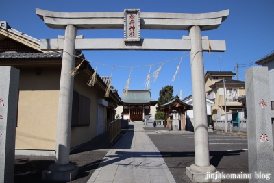 久兵衛稲荷神社(三郷市高州)3