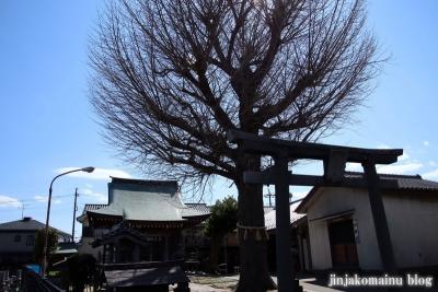 三輪神社(三郷市高州)1