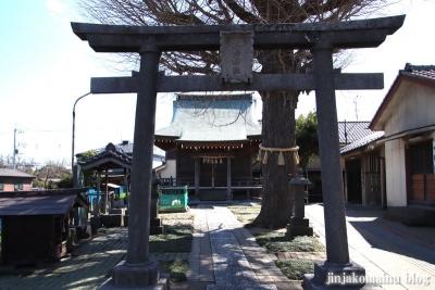 三輪神社(三郷市高州)2