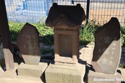 三輪神社(三郷市高州)11