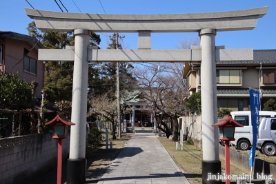 半田稲荷神社(葛飾区東金町3