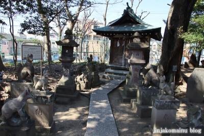 半田稲荷神社(葛飾区東金町19