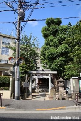 幸神社(文京区関口)1