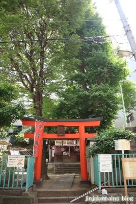 出世稲荷神社(文京区本郷)1