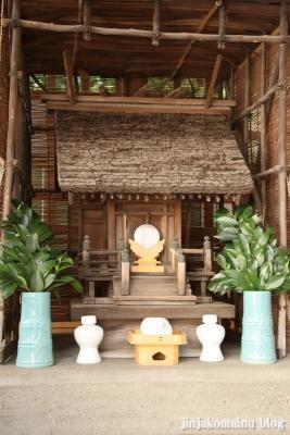 元富士神社(文京区本郷)6