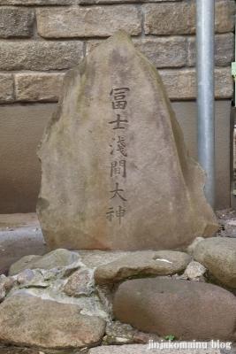 元富士神社(文京区本郷)7