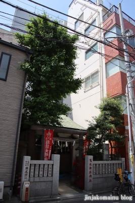 亀住稲荷神社(千代田区外神田)1