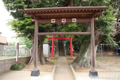 神明社(市川市奉免町)2