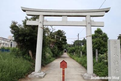 高塚八幡神社(松戸市高塚新田)3