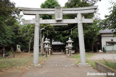 高塚八幡神社(松戸市高塚新田)5